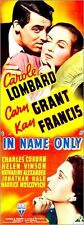 Poster / Leinwandbild IN NAME ONLY, top l-r: Cary Grant, Carole Lombard, b...