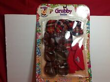 1987 Worlds of Wonder  Grubby Hiking Outfit New In Package Teddy Ruxpin