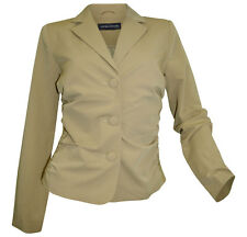 Blazer Ashley Brooke Gr. 36 38 40 42 44 taupe Kurzblazer Spitze Jacke