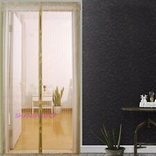 Door Net Mesh Screen Magnetic Fastening Mosquito Insect Fly Bug Guard Curtain