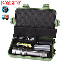 5000Lm CREE XML T6 LED Militär Flashlight Torch Zoom Lamp 18650 Batterie 5 Modi
