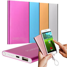 Portable External 12000mAh Power Bank USB Pack Battery Charger For iPhone Mobile