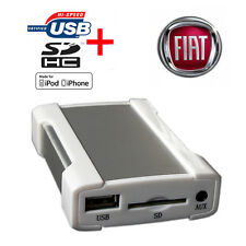 Fiat Bravo Coupe Croma Ducato Doblo iPod iPhone USB SD Aux Interfaccia - SKU1685