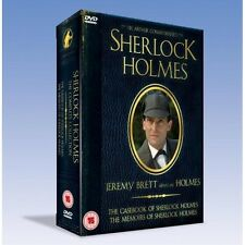 Sherlock Holmes: The Casebook Of Sherlock Holmes/The Memoirs... DVD Brand New