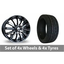 """4 x 20"""" Lenso Intimidator 4 Alloy Wheel Rims and Tyres -  295/40/20"""