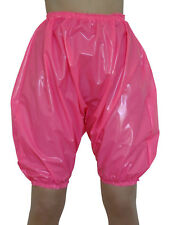 6fc10bb8f07 PVC Bloomers Sissy Pants Knickers Hot Pink Roleplay Panties Plastic Shiny