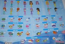 Splashlings Mermaids and friends wave 2 you choose rare ultra rare color change