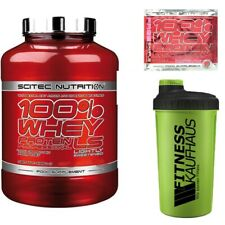 Scitec Nutrition 100% Whey Protein Professional LS 2350g Eiweiss+ Shaker + Probe