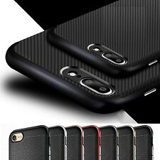 New ShockProof Bumper Back Case Cover for Apple iPhone FREE Screen Protector