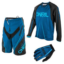 Oneal Freeride Element Blocker Mountainbike DH Combo Downhill MTB blau schwarz