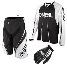 Oneal Freeride Element Blocker Mountainbike DH Combo Downhill MTB schwarz weiss