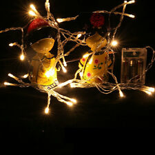 Spark String Fairy Light 20/30/50 LED Battery Operated Xmas Lights Party Wedding