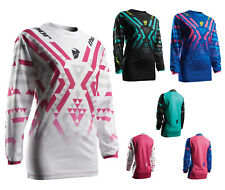 Thor Girls Jersey Impulsi FACET Mx Maglia per Motocross Enduro Mx Cross