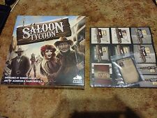 Saloon Tycoon Board Game + KickStarter Exclusive Boomtown Expansions (6 Total)!
