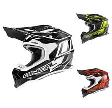 Oneal 2Series RL Casco cross Manalishi negro blanco Motocross Quad MX Enduro
