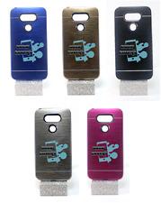 it cover custodia rigida in alluminio tpu gel interni lg optimus g5 h850 4g 5.3""