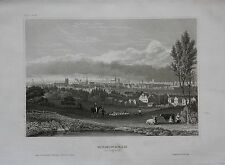 1840 - Birmingham England Ansicht view Great Britain Stahlstich engraving