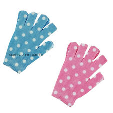 NEW EXFOLIATING BATH SHOWER EXFOLIATE FACE BODY SCRUB SKIN GLOVES MITTS BEAUTY