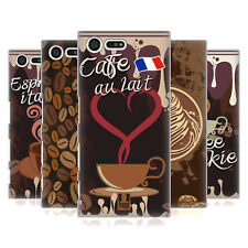 HEAD CASE DESIGNS COFFEE ADDICT HARD BACK CASE FOR SONY XPERIA X COMPACT