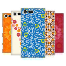 HEAD CASE DESIGNS DAISY PATTERNS HARD BACK CASE FOR SONY XPERIA X COMPACT