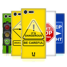 HEAD CASE DESIGNS LIFE SIGNALS HARD BACK CASE FOR SONY XPERIA X COMPACT