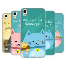 HEAD CASE DESIGNS CURIOUS CATS HARD BACK CASE FOR LG X POWER