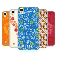 HEAD CASE DESIGNS DAISY PATTERNS HARD BACK CASE FOR LG X POWER