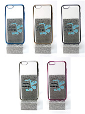 funda carcasa bumper gel tpu metalizada iphone 6 6g 6s 4.7""