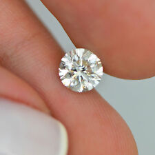 Certified One Carat H SI1 Round Brilliant Loose Real Diamond For Engagement Ring