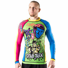 Fusion Fight Gear Star Trek Tokyo Invasion Long Sleeve Rashguard - Green