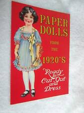 1983 Paper Dolls from the 1920's (Reproduction)