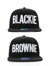 Blackie / Brownie Hair Colour Hip Hop Snapback Baseball Cap / Hat