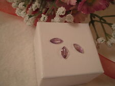 NEW 3/2.00-3.00ctw 10X5mm GENUINE AMETHYST MARQUISE SHAPE