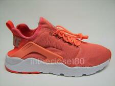 Nike Air Huarache Run Ultra Bright Mango Orange White Womens Trainers 819151 800