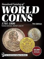 Standard Catalog of World Coins, 1701-1800, 7th edition, , Very Good condition,