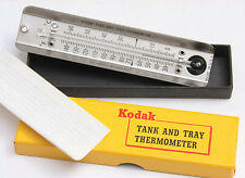 Kodak Tank and Tray Thermometer 30-140F with B/W 68F Marked - NEW VINTAGE C393