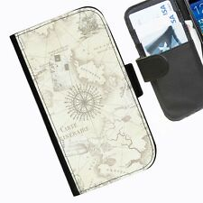 NÁUTICO MARINERO MAPA funda Carcasa para iPhone Samsung Sony Blackberry funda