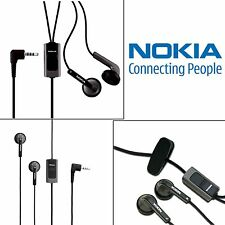 Genuine Nokia Handsfree Earphone Headset HS-48 HS48 with 3.5mm Jack & Mic