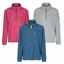 Regatta Boys Girls Childrens Kids Chopwell Half Zip Lightweight Fleece Sweater