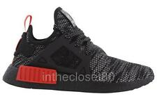 Adidas NMD XR1 Black White Red Mens Woven Mesh Trainers S76849