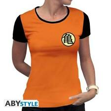 DRAGON BALL - Tshirt Kame Symbol woman SS orange - basic
