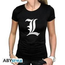 DEATH NOTE - Tshirt L tribute woman SS black - basic
