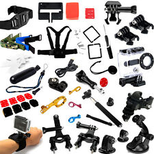 Accessories Pack Case Head Chest Tripod Surf Mount for GoPro HD Hero 3+ 3 2 1
