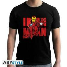 MARVEL - Tshirt Iron Man Graphic man SS black - new fit