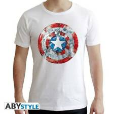 MARVEL - Tshirt CA Classic man SS white - new fit