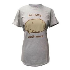 Pusheen - So Lazy (Rolled Sleeve) (NEW MENS T-SHIRT )