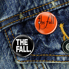 The Fall Mark E Smith Manchester Indie Pin Button Badge, Choice of 2 Badges