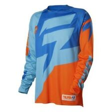 SHIFT MX 2016 Motocross / Mtb Jersey Faction - Orange Azul ENDURO C
