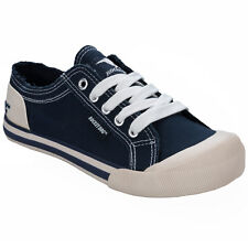 Mujer Rocket Dog Jazzin 8a Zapatillas de tela azul marino de get the label