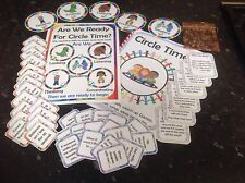 Circle time resource set action cards discussion cards rules ideas booklet sen